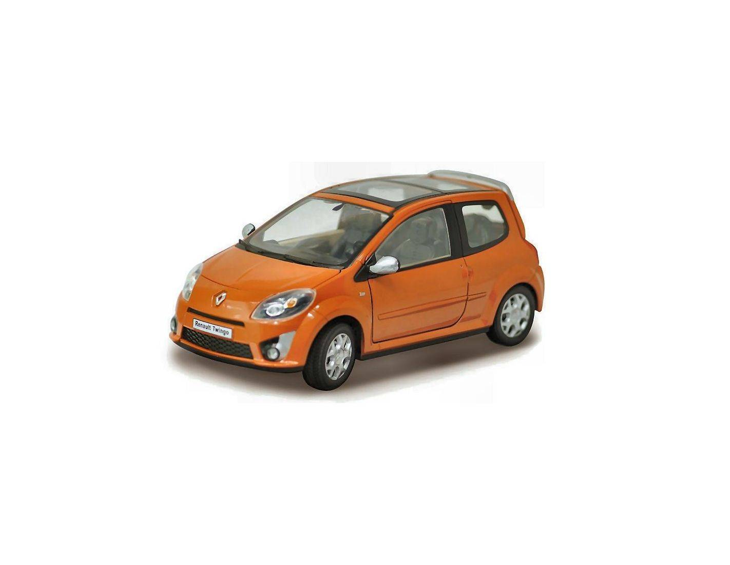 cararama motorama ca9349 renault twingo ii 2007 orange 1 24 modellino. Black Bedroom Furniture Sets. Home Design Ideas