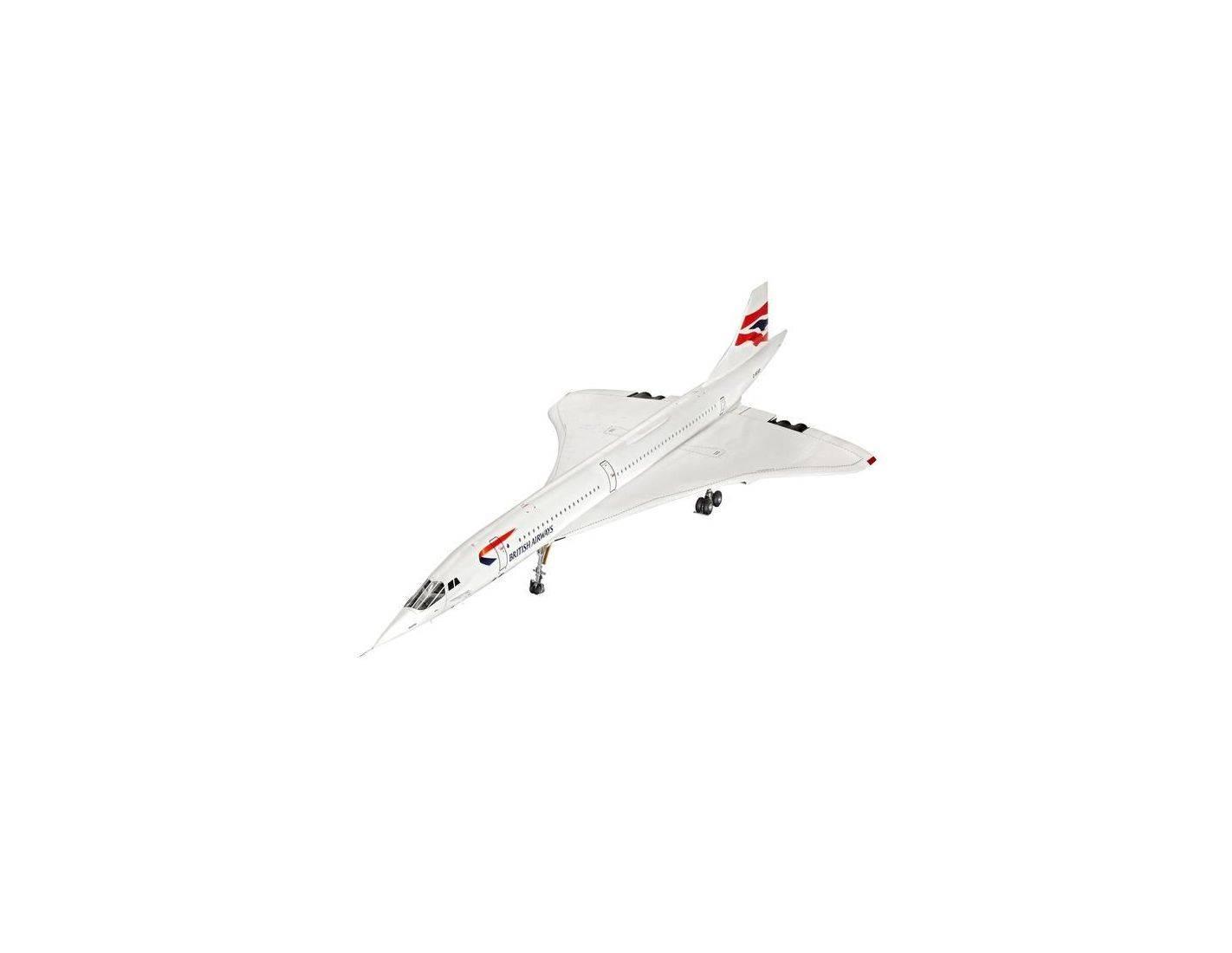 Revell rv4997 concorde british airways kit 1 72 modellino for Modellino concorde