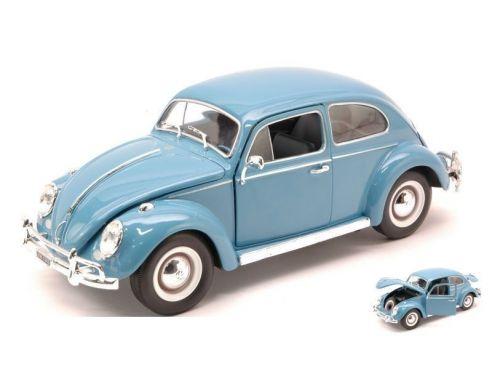 white box wb124003 vw beetle 1200 1960 light blue 1 24. Black Bedroom Furniture Sets. Home Design Ideas
