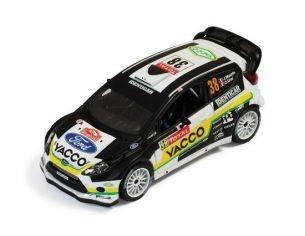 Ixo model RAM501 FORD FIESTA WRC N.38 RALLY MONTE CARLO 2012 MAURIN-URAL 1:43 Modellino