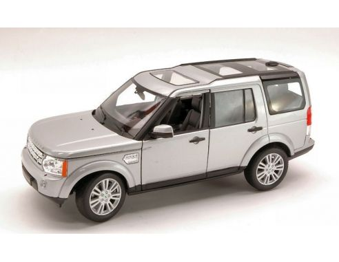 Welly we3797 land rover discovery 4 2010 silver 1 24 for Discovery 24 shop