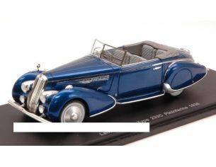 Spark Model S2724 LANCIA ASTURA TYPE 233C PININFARINA 1936 METALLIC BLUE 1:43 Modellino