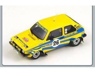 Spark Model S3201 VW GOLF GTI N.26 5th MONTECARLO RALLY 1980 EKLUND/SYLVAN 1:43 Modellino
