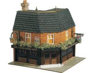 "Domus Kits 40304 Country 7 ""The Bricklayers Arms"" Ristorante Pub 1:50 Kit Modellino"