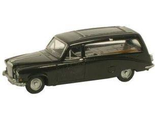 Oxford 76DS002 DAIMLER DS420 BLACK HEARSE 1/76 Modellino