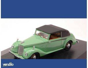 Oxford OXFASH002 ARMSTRONG SIDDELEY HURRICANE CABRIO CLOSED 1946 GREEN 1:43 Modellino