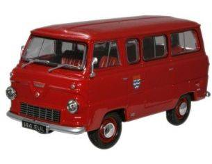 Oxford FDE005 FORD 400E MINIBUS LONDON FIRE 1/43 Modellino