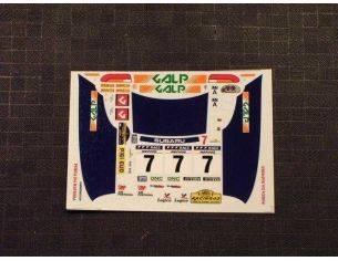 Racing 43 RD19 SUBARU IMPREZA WRX GALP CATALINIA 97 Modellino
