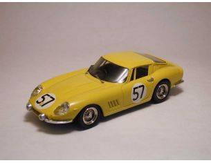 Best Model BT9083 FERRARI 275 GTB 4 N.57 10th LM 1966 P.NOBLET-C.DUBOIS 1:43 Modellino