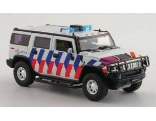 Replicars HUM01 HUMMER H2 DUTCH POLICE 1/43 Modellino