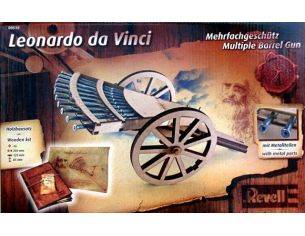 Revell RV0510 MULTIPLE BARREL GUN LEONARDO DA VINCI KIT 1:16 Kit Art.Vari