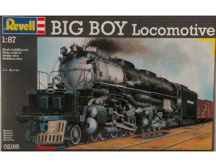Revell RV2165 BIG BOY LOCOMOTIVE KIT 1:87 Kit Art.Vari