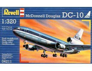 Revell RV4211 DC-10 KIT 1:320 Modellino