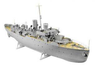 Revell RV5112 FLOWER CLASS CORVETTE (1214 PCS) KIT 1:72 Kit Navi