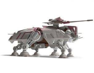 Revell RV6684 STAR WARS AT-TE (CLONE WARS) KIT 1:98 Kit Space