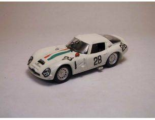 Best Model BT9118 ALFA ROMEO TZ2 N.28 DNF 1000 KM MONZA 1967 DE LEONIBUS-DI BONA 1:43 Modellino