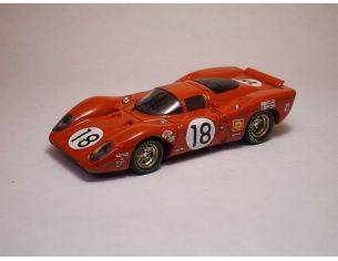 Best Model BT9143 FERRARI 312 P COUPE' N.18 19th LM 1969 RODRIGUEZ-PIPER 1:43 Modellino