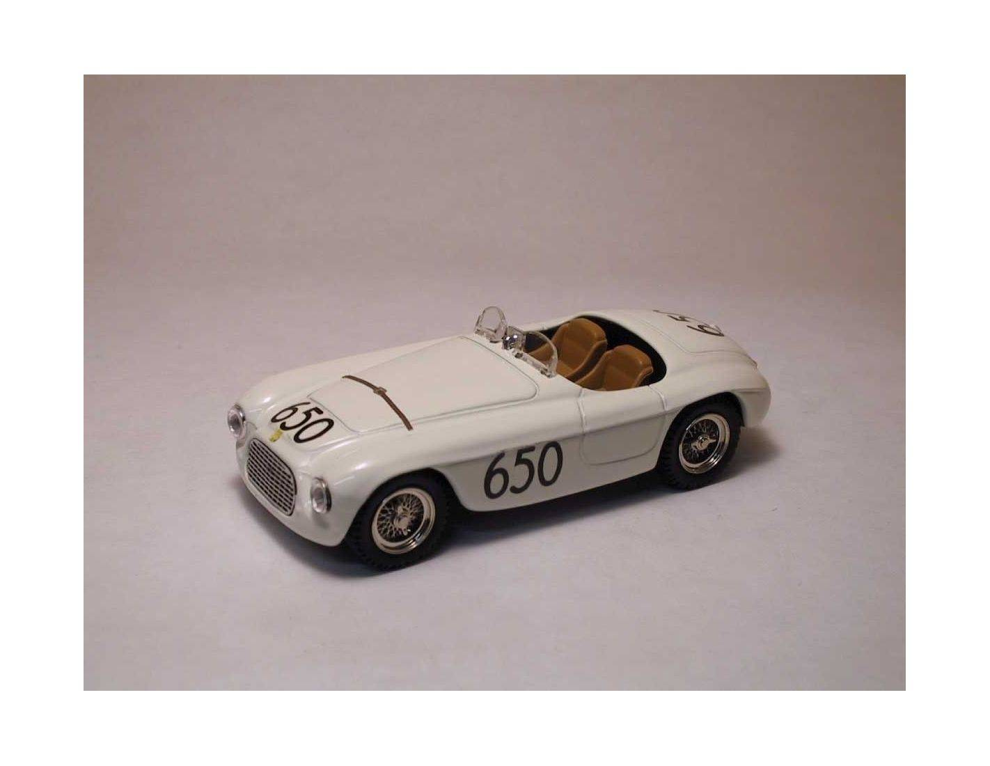 Art Model AM0017 FERRARI 166 MM SPYDER N.650 ACCIDENT MM 1950 MARZOTTO-CRISTALDI 1:43 Modellino