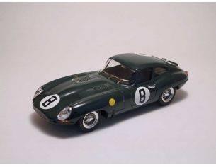 Best Model BT9161 JAGUAR E SPIDER N.8 DNF LE MANS 1962 M.CHARLES-J.COUNDLEY 1:43 Modellino