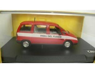 Scale Car PR203 FIAT ULYSSE VIGILI DEL FUOCO 1/43 Modellino