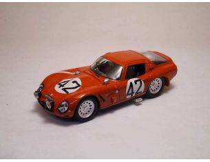 Best Model BT9184 ALFA ROMEO TZ 2 N.42 44th LM 1965 GEKI RUSSO-ZUCCOLI 1:43 Modellino