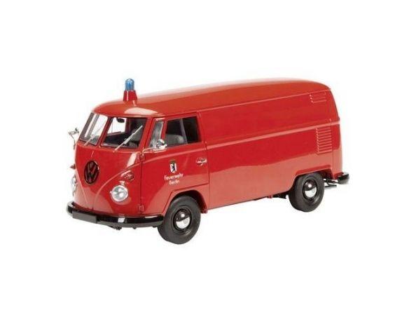 Schuco SH0274 VW T1 FEUERWEHR BERLIN 1:18 Modellino