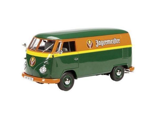 Schuco SH0275 VW T1 JAEGERMEISTER 1:18 Modellino