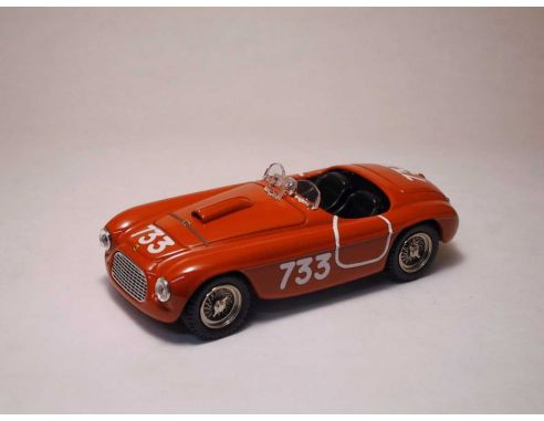 Art Model AM0023 FERRARI 195 S SPIDER N.733 2nd MM 1950 SERAFINI-SALAMI 1:43 Modellino