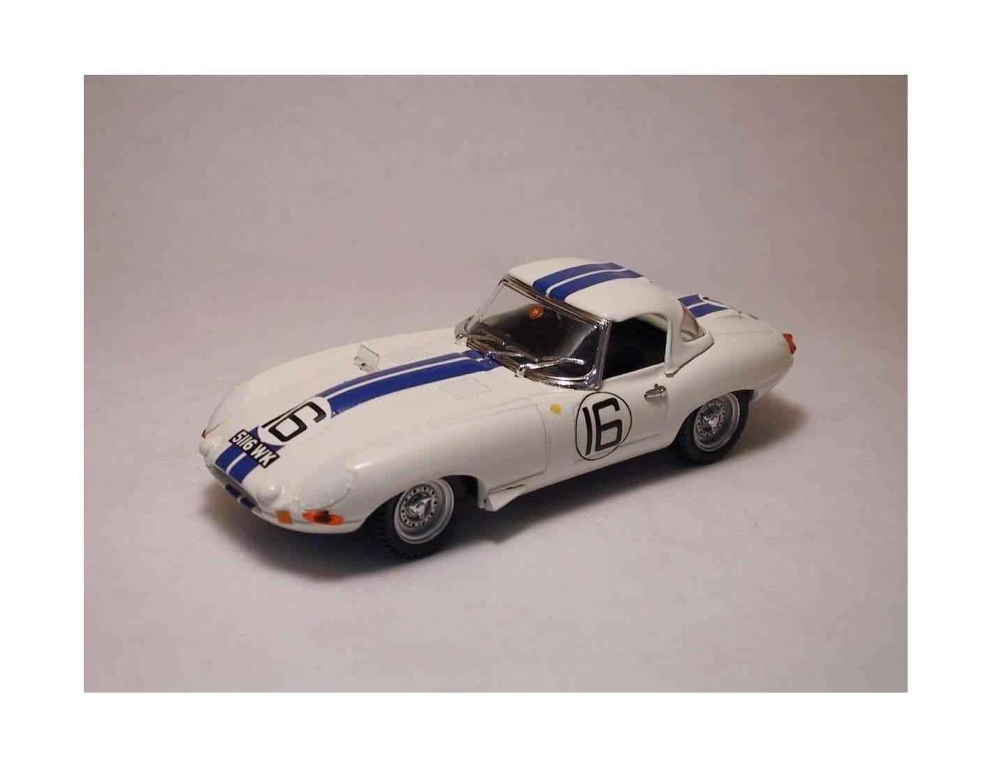 Best Model BT9205 JAGUAR E N.16 41th LM 1963 P.RICHARDS-R.SALVADORI 1:43 Modellino