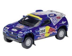 Schuco 25344 VW RACE TOUAREG 2007 VATANEN/PONS Modellino