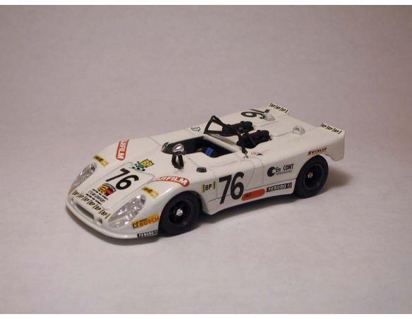 Best Model BT9215 PORSCHE 908/2 FLUNDER N.76 DNF LE MANS 1972 LAGNIEZ/TOUROUL 1:43 Modellino