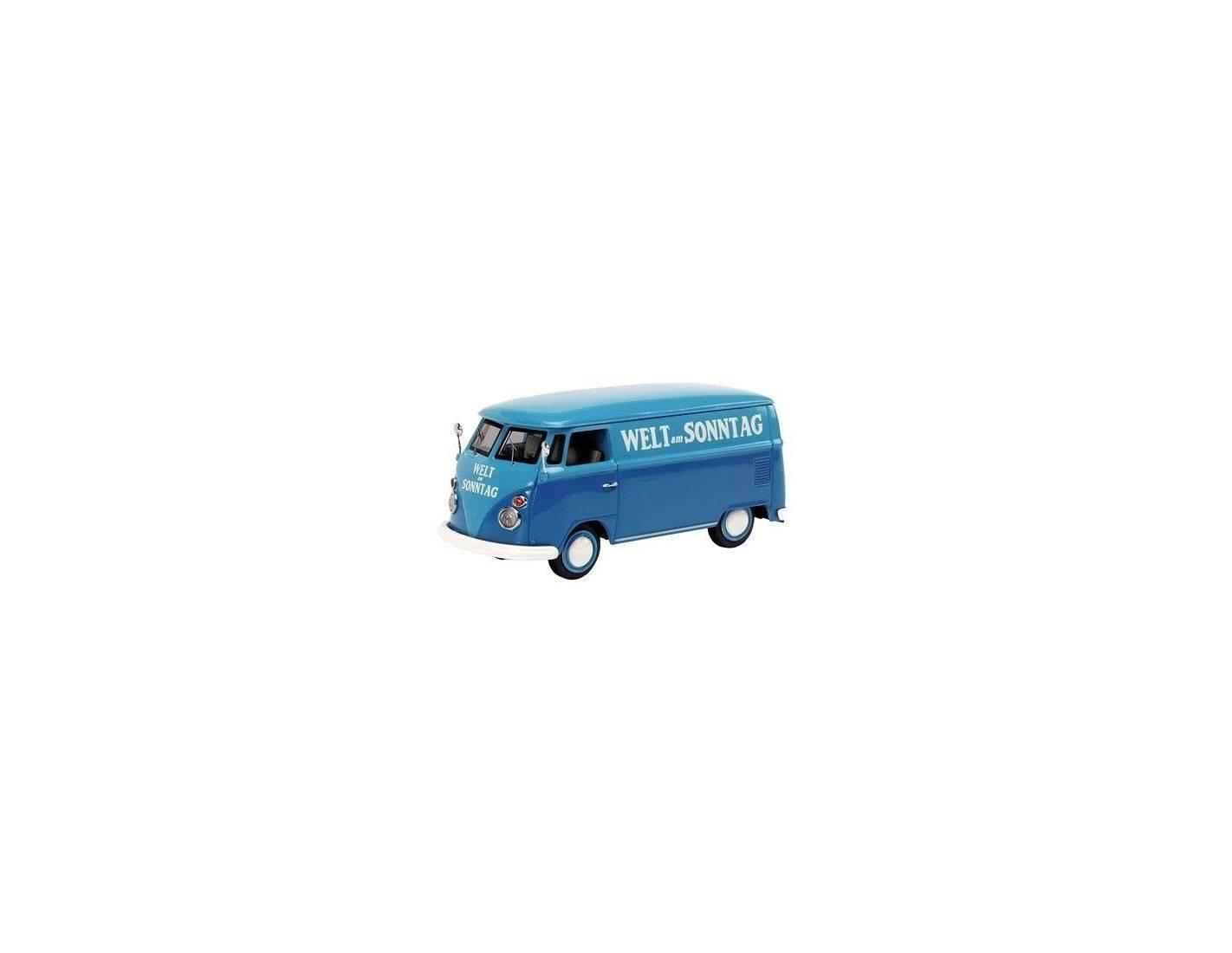 schuco 2579 vw bus t1 van 39 welt am sonntag 39 1 43 modellino. Black Bedroom Furniture Sets. Home Design Ideas