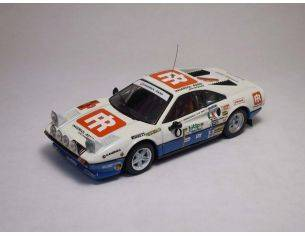 Best Model BT9218 FERRARI 308 GTB N.8 6th RALLY ELBA 1984 F.ORMEZZANO-M.AMATI 1:43 Modellino