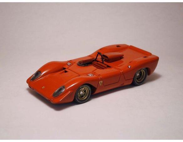 Best Model BT9220 FERRARI 312 P SPYDER 1969 PROVA RED 1:43 Modellino