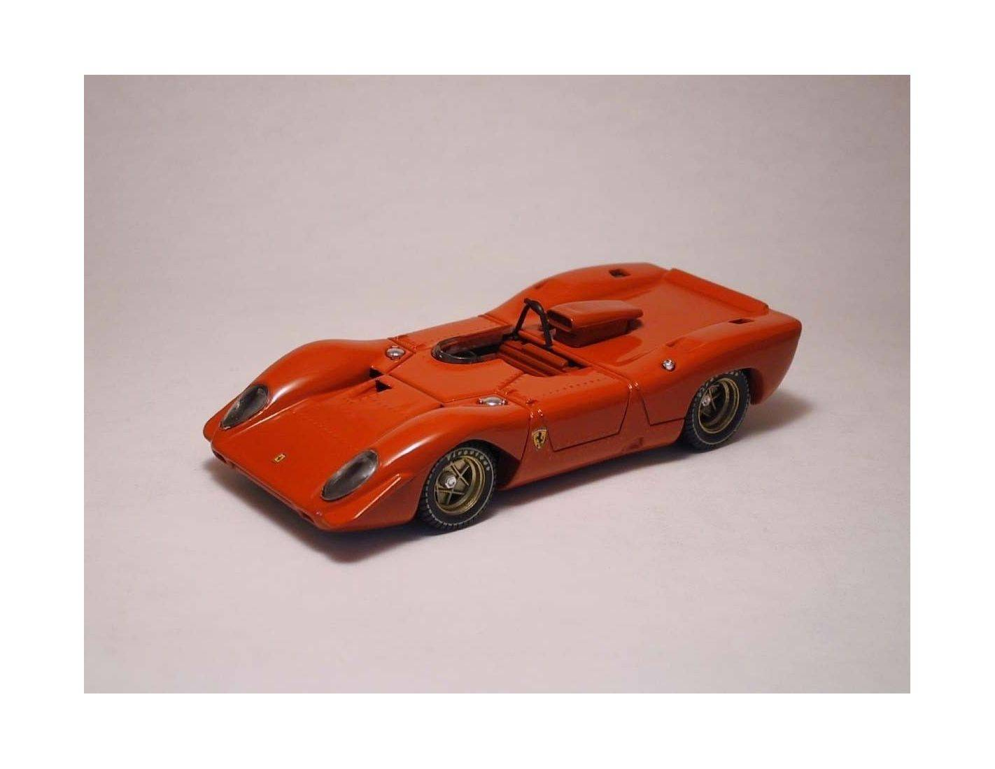 Best Model BT9220 FERRARI 312 P SPYDER 1969 PROVA RED 1:43 Modellino