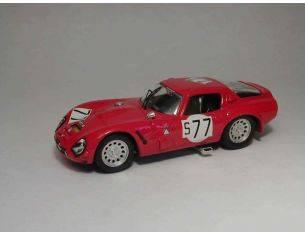Best Model BT9229 ALFA ROMEO TZ2 N.77 13th 1000 KM NURBURGRING 1966 BIANCHI-SCHULTZE 1:43 Modellino