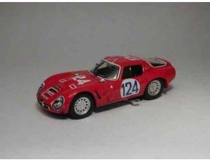 Best Model BT9239 ALFA ROMEO TZ2 N.124 DNF TARGA FLORIO 1966 SHANGRI-LA/FEDERICO 1:43 Modellino