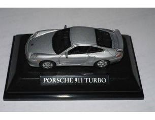 Schuco 3310116 PORSCHE 911 TURBO 1/72 Modellino