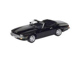 Schuco 3315113 JAGUAR XJS CABRIO BLACK 1/64 Modellino
