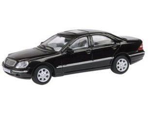 Schuco 3316206 MERCEDES BENZ CLASSE S BLACK 1/72 Auto 1/72