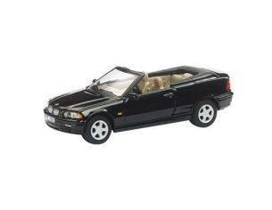 Schuco 3316213 BMW 3' SERIE CABRIO BLACK 1/72 Auto 1/72