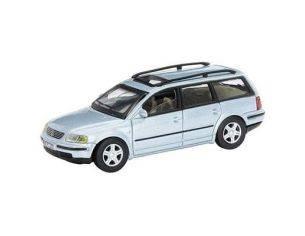 Schuco 3316270 VW PASSANT VARIANT SILVER 1/72 Modellino