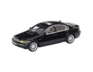 Schuco 3316272 BMW 745 I BLACK 1/72 Modellino