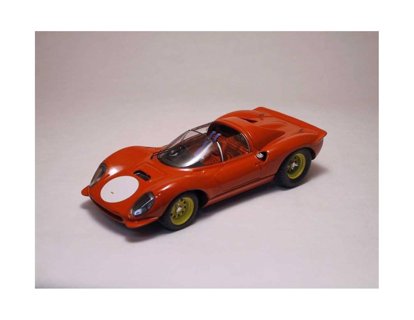 Art Model AM0029 FERRARI DINO 206 S 1966 RED 1:43 Modellino