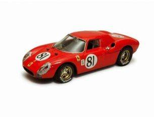 Best Model BT9266 FERRARI 250 LM N.81 ACCIDENT 24H DAYTONA 1968 PIPER/GREGORY 1:43 Modellino