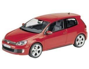 Schuco 7405 VW GOLF VI GTD RED 1/43 Modellino