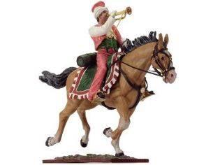 Schuco 8731382 MAMELUK WITH TRUMPET + HORSE Modellino