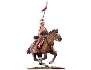 Schuco 8731383 MAMELUK WITH LANCE + HORSE Modellino