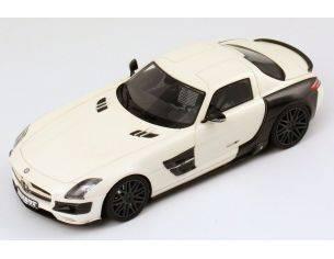 Schuco 8819 BRABUS 700 BITURBO SLS WHITE 1/43 Modellino