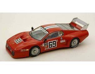 Best Model BT9297 FERRARI 512 BB LM N.69 36th 24 H DAYTONA 1980 HENN-DIEUDONNE' 1:43 Modellino